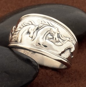 Sterling Silver Fantasy Horse RING