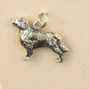 Sterling Silver Golden Retriever Dog Charm or Pendant,