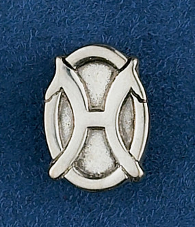 Sterling Silver Hanoverian Lapel Pin or Tie Tack
