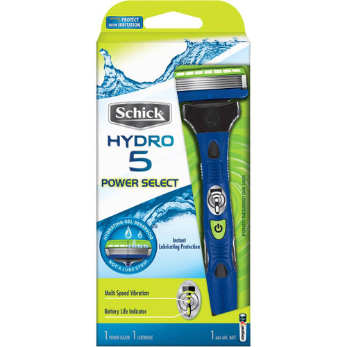 Benefits of Shaving with the 5-Blade Schick Hydro 5 Power Select Razor:  Smooth feel on skin with no irritation/minimal irritation - meaning no bumps [best way to deal with shaving/razor bumps is to prevent the bumps from forming in the first place]  Fast, Effortless Shaving - you can complete your shave in 2 to 5 minutes  Excellent Razor for First Time Razor Shavers  Very Smooth feel on Skin and has a pivot option for the Mustache and Side-Burn areas