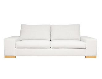 Harrison Modern Sofa Fabric Lola Magnolia Front