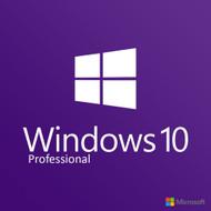 Microsoft Windows 10 Professional 32/64-bit Retail License Download