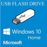 Microsoft Windows 10 Home 32/64-bit Creators Update USB Flash Drive