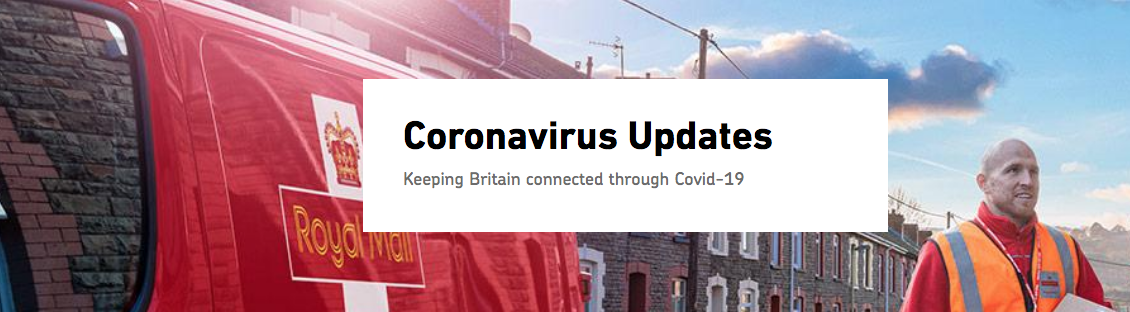 coronavirus and delivery times