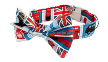 Clasp Collar with Bow Tie [London Icons]