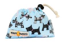 Noddy & Sweets Poop / Treat Bag [Scotties Blue]