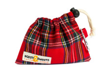 Noddy & Sweets Poop / Treat Bag [Tartan]