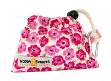 Noddy & Sweets Poop / Treat Bag [Pink Poppy]