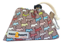 Noddy & Sweets Poop / Treat Bag [Dog Parade Tan]