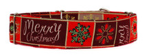 Martingale Collar [Merry Xmas Red]