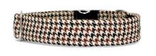 Metal Clasp Collar [BB Tweed Dog Tooth]