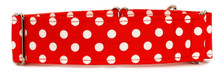 Martingale Collar [Red Polka Dots]
