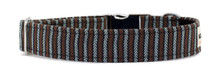 Metal Clasp Collar [Herringbone Tweed]