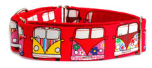 Martingale Collar [Camper Van Red]