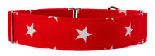 Martingale Collar [Stars Red]