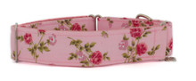Martingale Collar [Roses Pink]