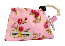 Noddy & Sweets Poop / Treat Bag [Roses]