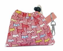 Noddy & Sweets Poop / Treat Bag [Dog Parade Salmon]