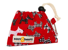Noddy & Sweets Poop / Treat Bag [Scotties Red]