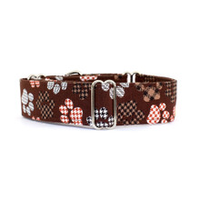 Martingale Collar [Paws Brown]