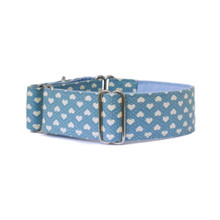 Martingale Collar [Blue Hearts]