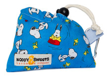 Noddy & Sweets Poop / Treat Bag [Snoopy Oh Joy! Blue]