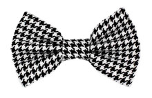 Bow Tie [Dog Tooth BW]