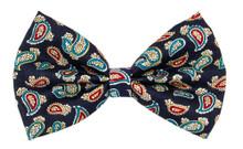 Bow Tie [Paisley Navy]