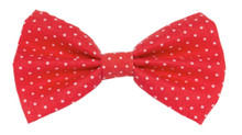 Bow Tie [Tiny Dots Red]