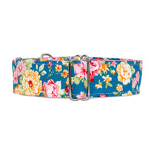 Martingale Collar [Wisley Blue Lake]