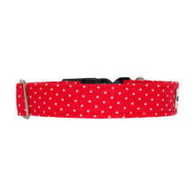Clasp Collar [Tiny Dots Red]