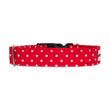 Clasp Collar [Dots Red]