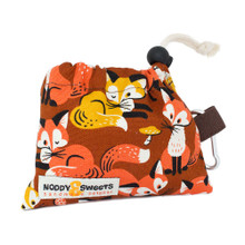 Noddy & Sweets Poop / Treat Bag [Foxes]