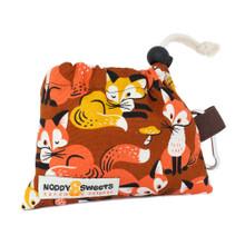 Noddy & Sweets Poop / Treat Bag [Foxes]