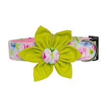 Clasp Collar with Flower [Peony]