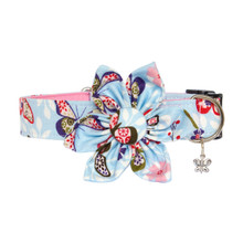 Clasp Collar with Flower [Butterfly]