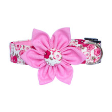 Clasp Collar with Flower [Quince]