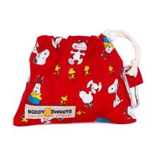 Noddy & Sweets Poop / Treat Bag [Snoopy Oh Joy! Red]