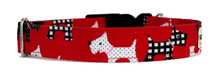 Clasp Collar [Scotties Red]
