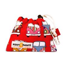 Noddy & Sweets Poop / Treat Bag [Camper Van Red]