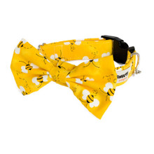 Clasp Collar with Bow Tie [Bumble Bees]