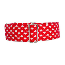 Martingale Collar [Hearts Red]