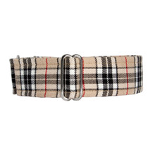 Martingale Collar [Tartan Tan]