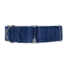 Martingale Collar [Herringbone Midnight]