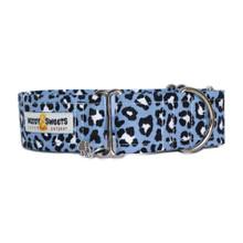 Martingale Collar [Leopard Blue]