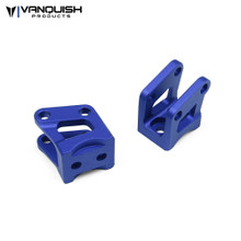 Axial AR60 Axle Shock Link Mounts Blue Anodized