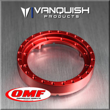 OMF 1.9 Front Ring Red Anodized