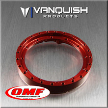 OMF 2.2 Front Ring Red Anodized
