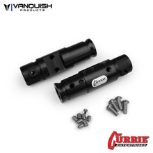 Currie SCX10 Front Tubes Black Anodized