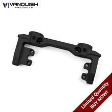 Axial SCX Front Bumper / CMS Mount Black Anodized